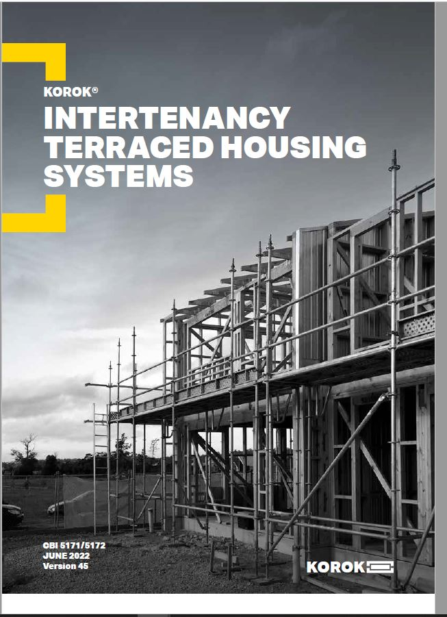 KOROK Intertenancy Terraced Housing Systems Manual